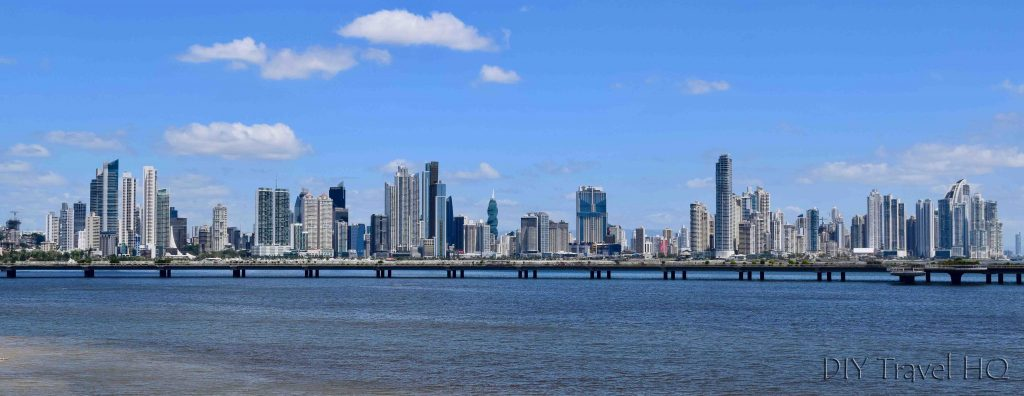 Panama City Skyline of Business District