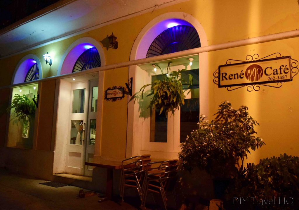 Rene Cafe Casco Viejo Panama City