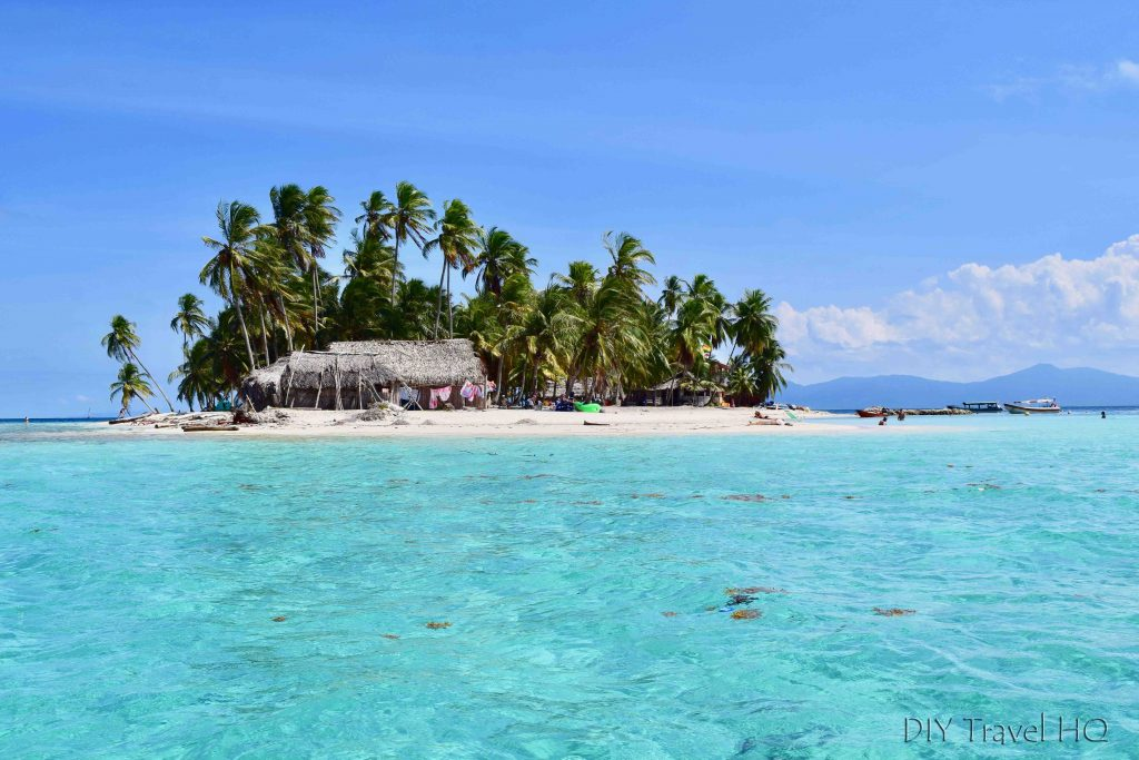 San Blas Dog Island Clear Water