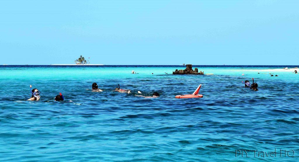 San Blas Dog Island Sunken Ship Snorkeling