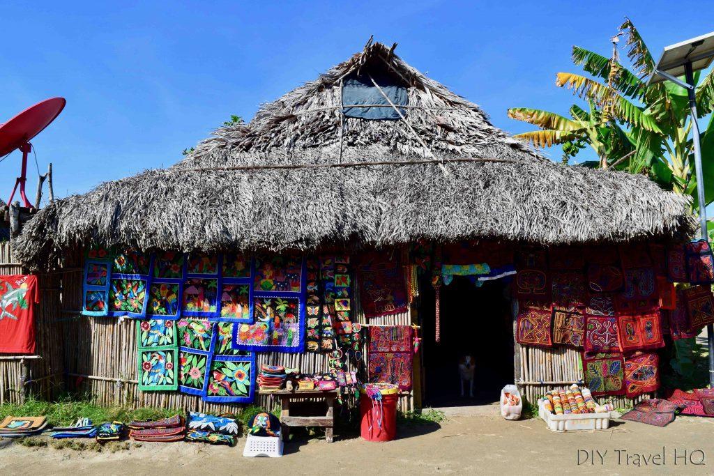 San Blas Islands Mola Artwork