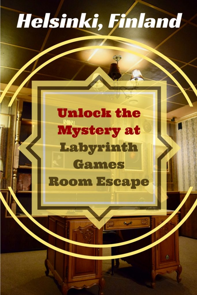 """Labyrinth Games Room Escape offers 2 exciting escape room challenges, """"The Internship"""" & """"The Great Mind"""". We can't give too much away as escape rooms are all about the mystery, but we offer a teaser of what to expect as well as top tips for success – just because we didn't escape in 60 minutes doesn't mean you can't! Find out what lies behind closed doors as we unlock the mystery behind Helsinki's most intriguing adventure game!"""