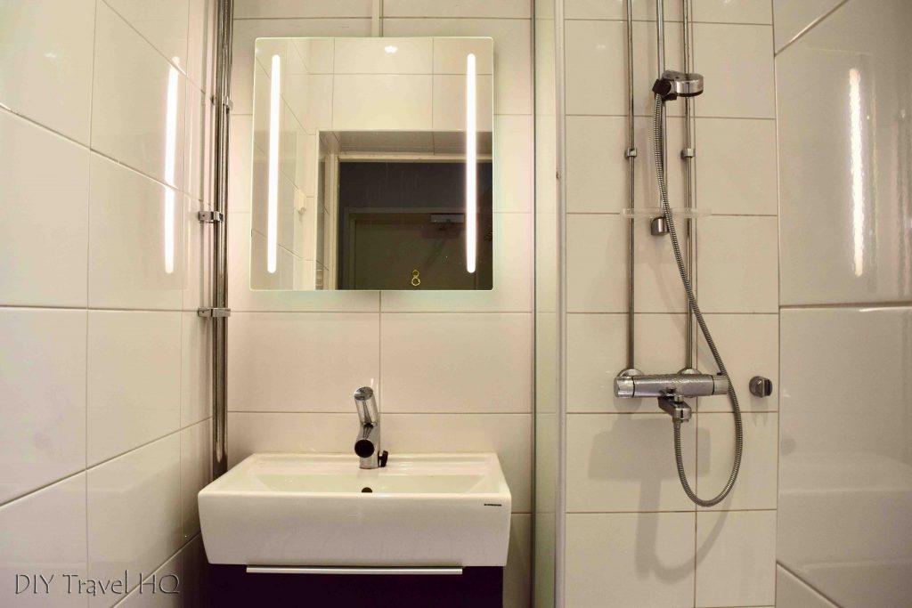 Bathroom The Yard Hostel