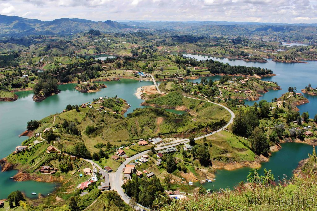 Guatape Rock islands