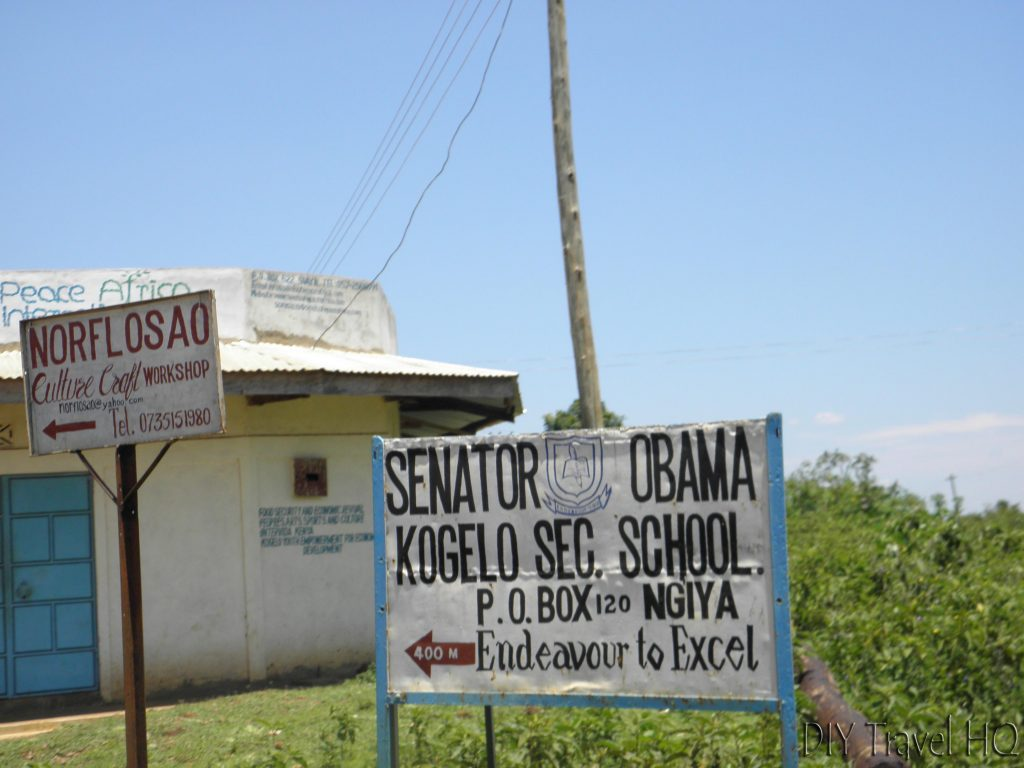 Kenyan Obama School Charity