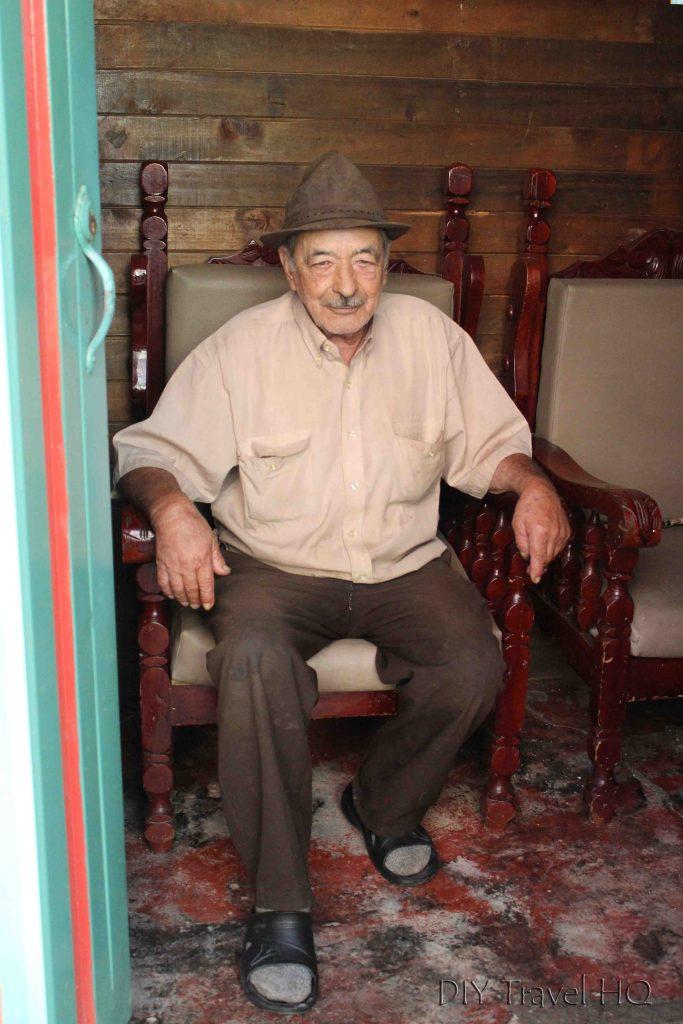 Columbian man in Guatape