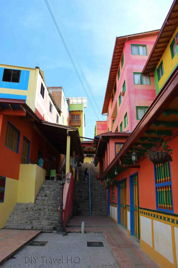 Guatape in Columbia