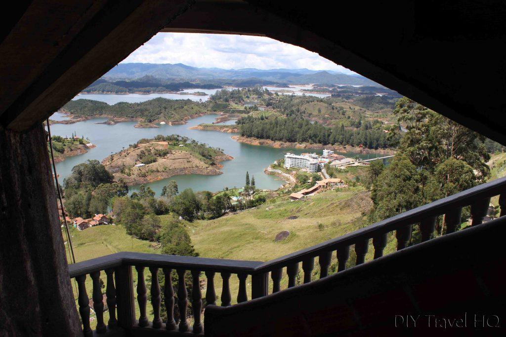 El Peñon de Guatape views