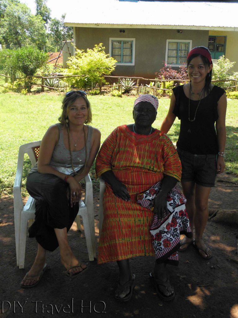 Visiting Mama Sarah Obama