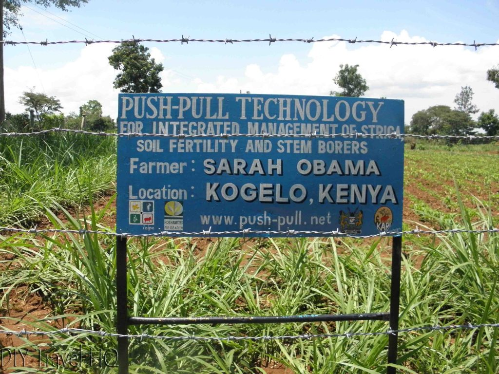Kogelo Obama farming sign