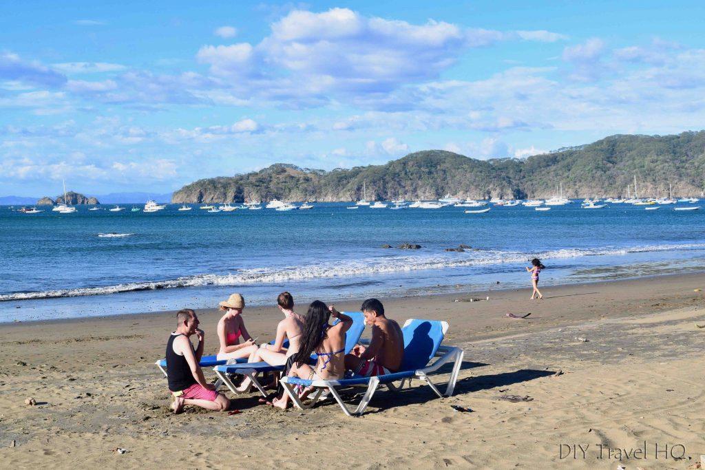 Playas del Coco beach