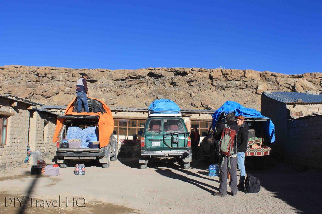 Salar de Uyuni tour accommodation