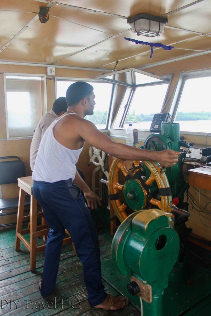 Captain Rocket Paddle Steamer