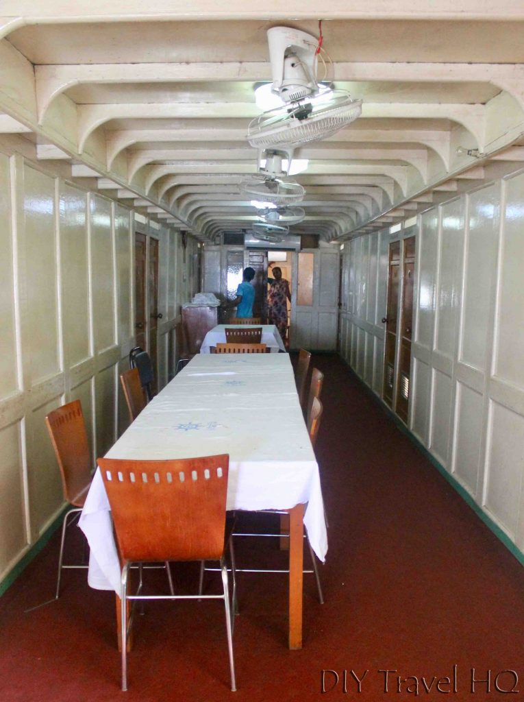 Dining room Rocket Paddle Steamer