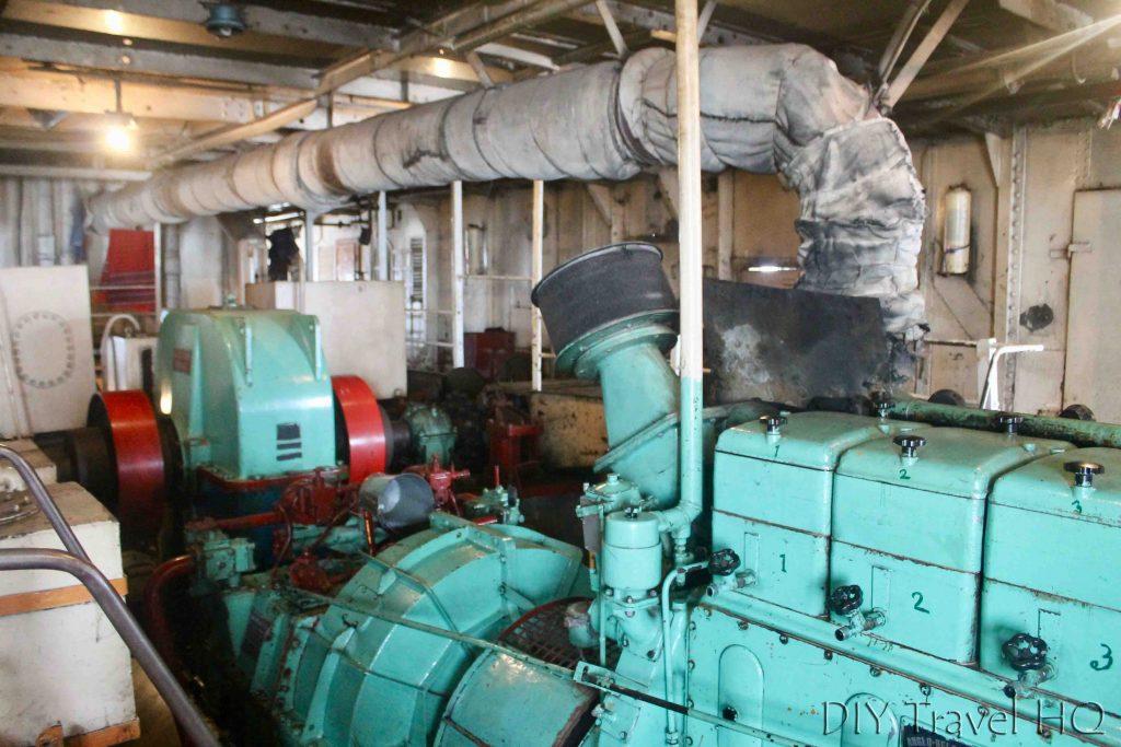 Engine room Rocket Paddle Steamer