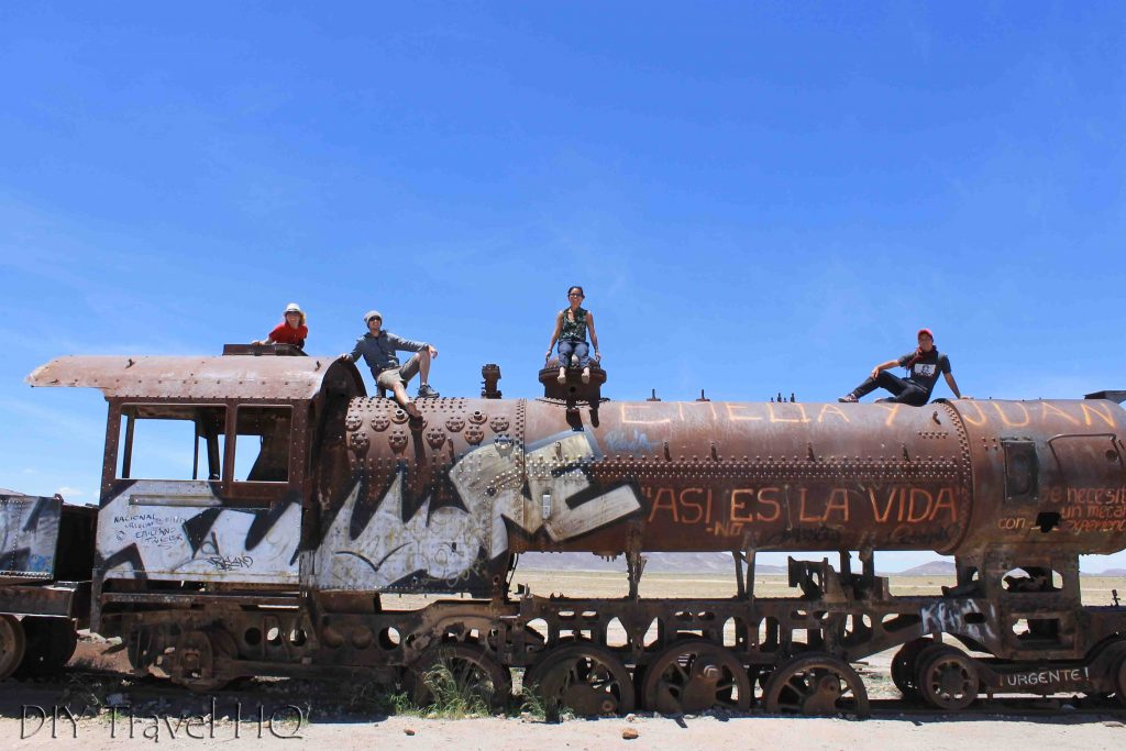 Train graveyard Uyuni