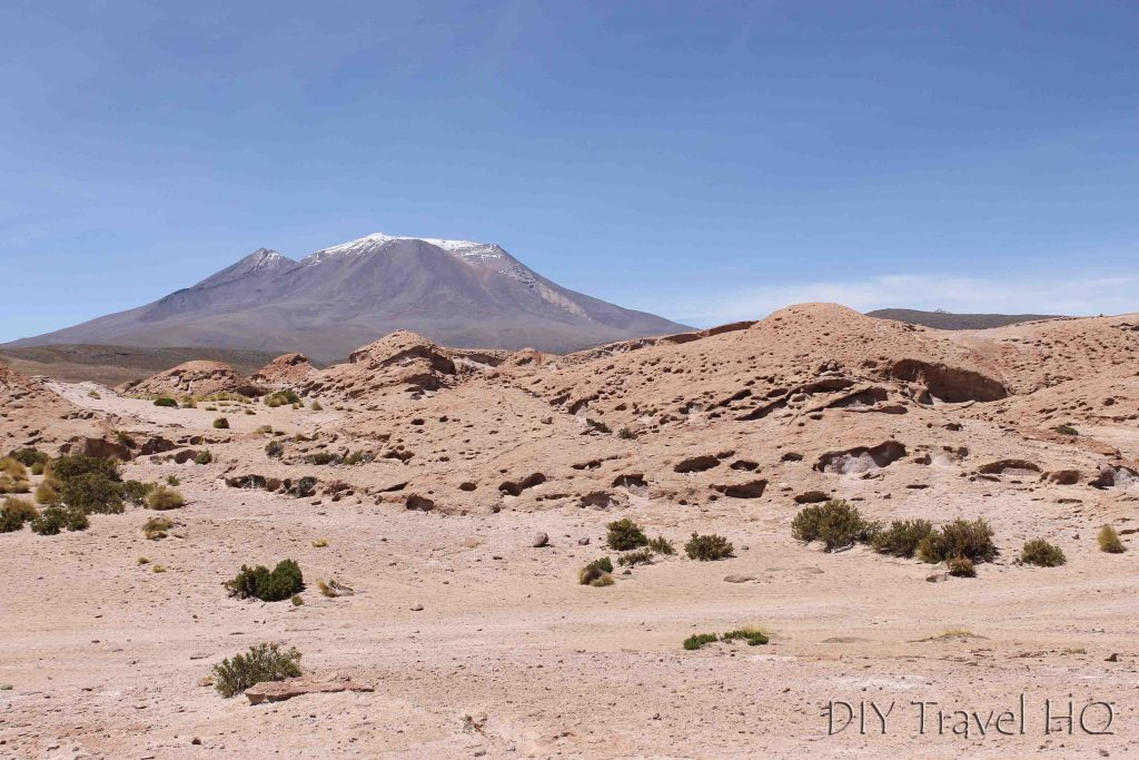 Uyuni desert landscape