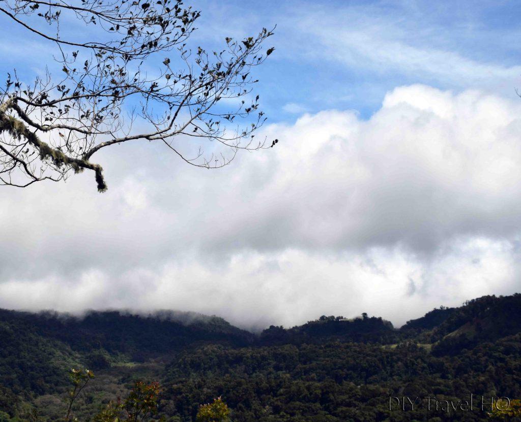 Sendero Los Quetzales Mirador Las Rocas View Point