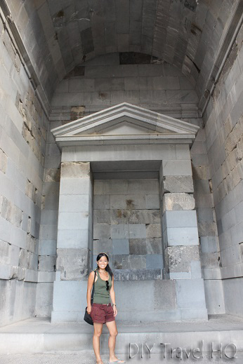 Me at Temple of Garni