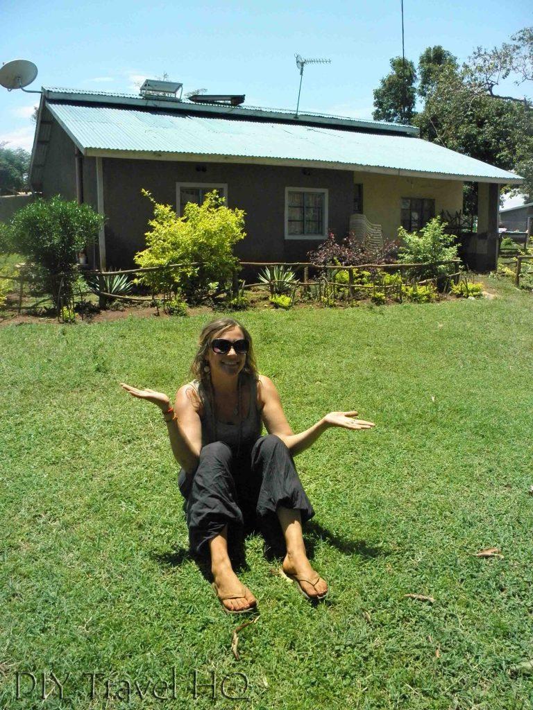 Mama Sarah Obama's house