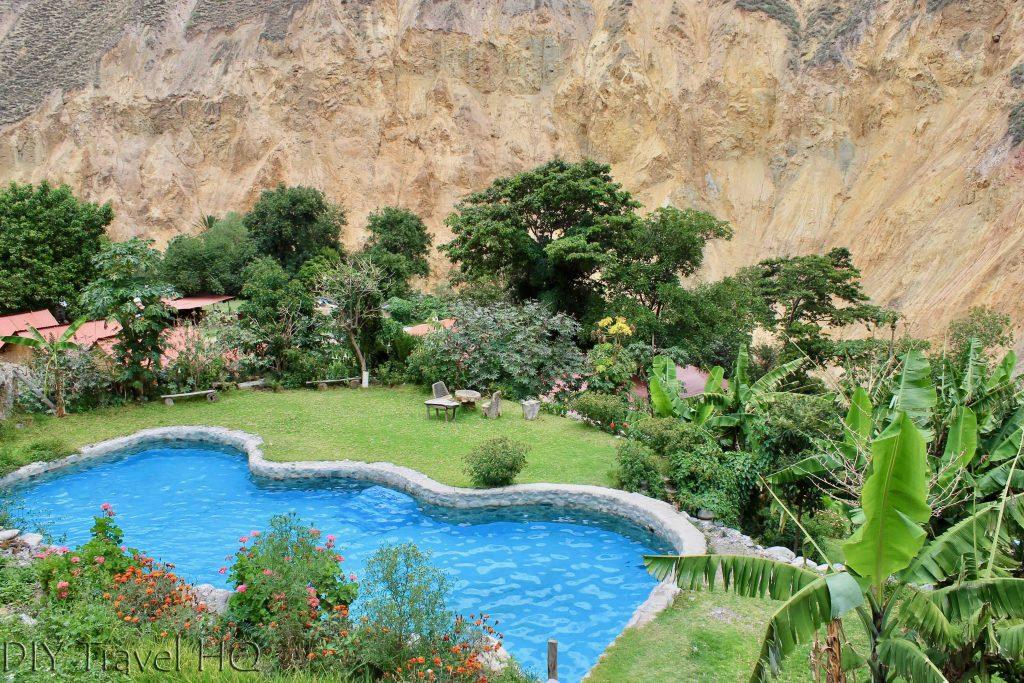 Swimming Pool Colca Canyon
