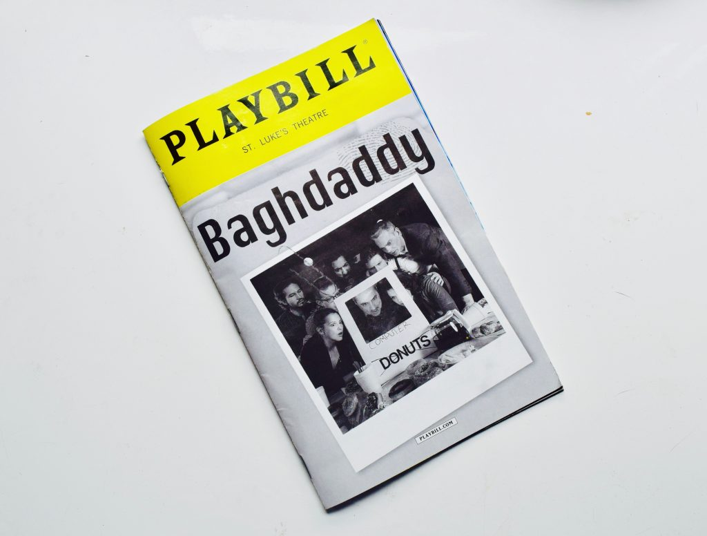 Baghdaddy Playbill