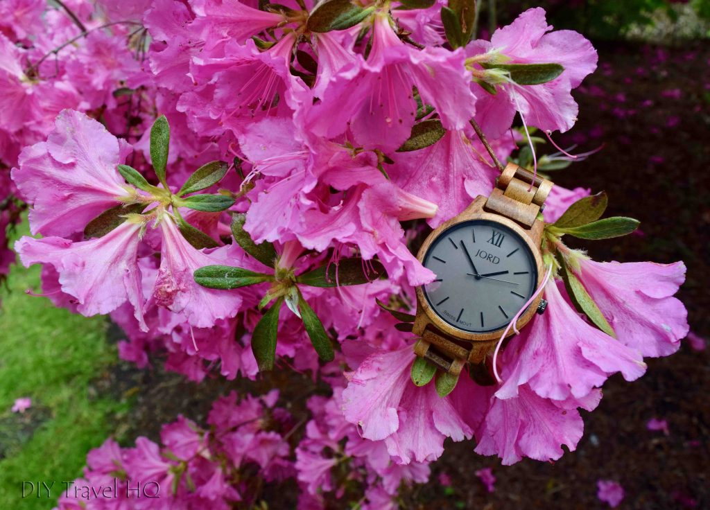 Jord Watch with flowers
