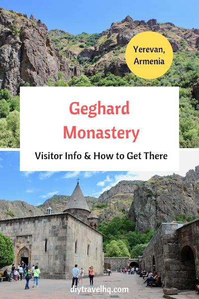 Geghard Monastery in Armeia