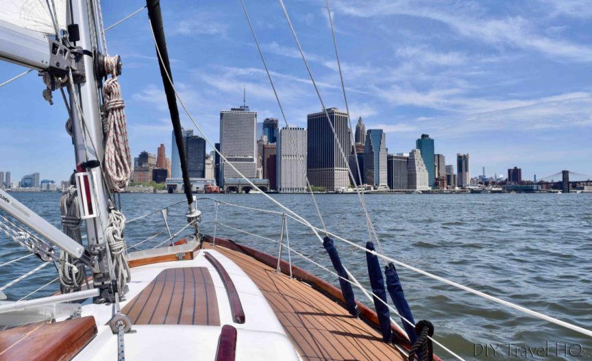 Tribeca Sailing tours NYC