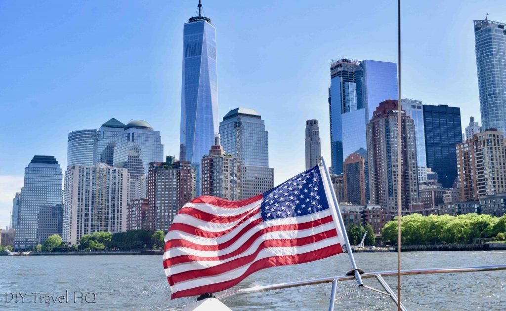 American Flag Tribeca Sailing