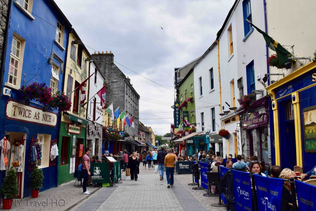 Backpacking in Ireland Galway