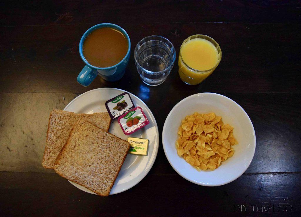 Breakfast at Jacobs Inn