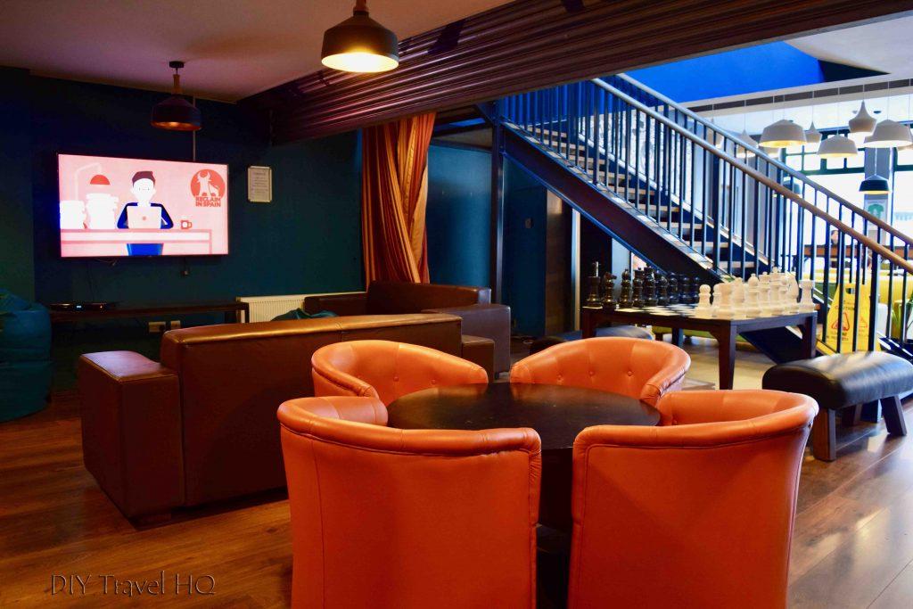TV room Jacobs Inn