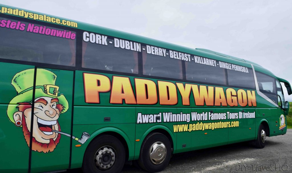 Paddywagon Tours bus