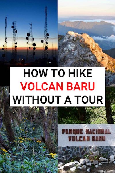 The sunrise hike up to Volcan Baru, Panama is one of the best things to do in Boquete. Find out how to do it without a guide and see if you've got what it takes #volcanbaru #panama #panamatravel