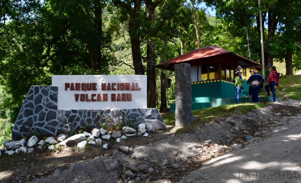 Volcan Baru National Park