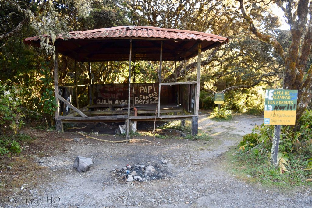 Volcan Baru National Park Camping Area