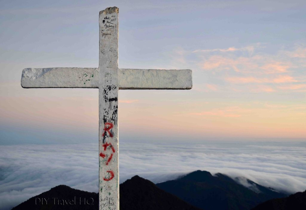 Volcan Baru Summit Cross