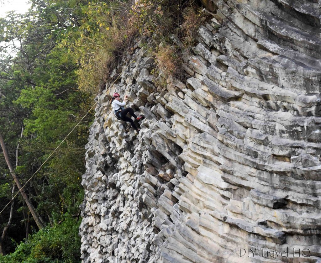 Volcanic Basalt Rock Climbing Boquete Panama