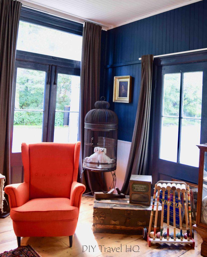 The DeWitt Oak Hill Parlor Room