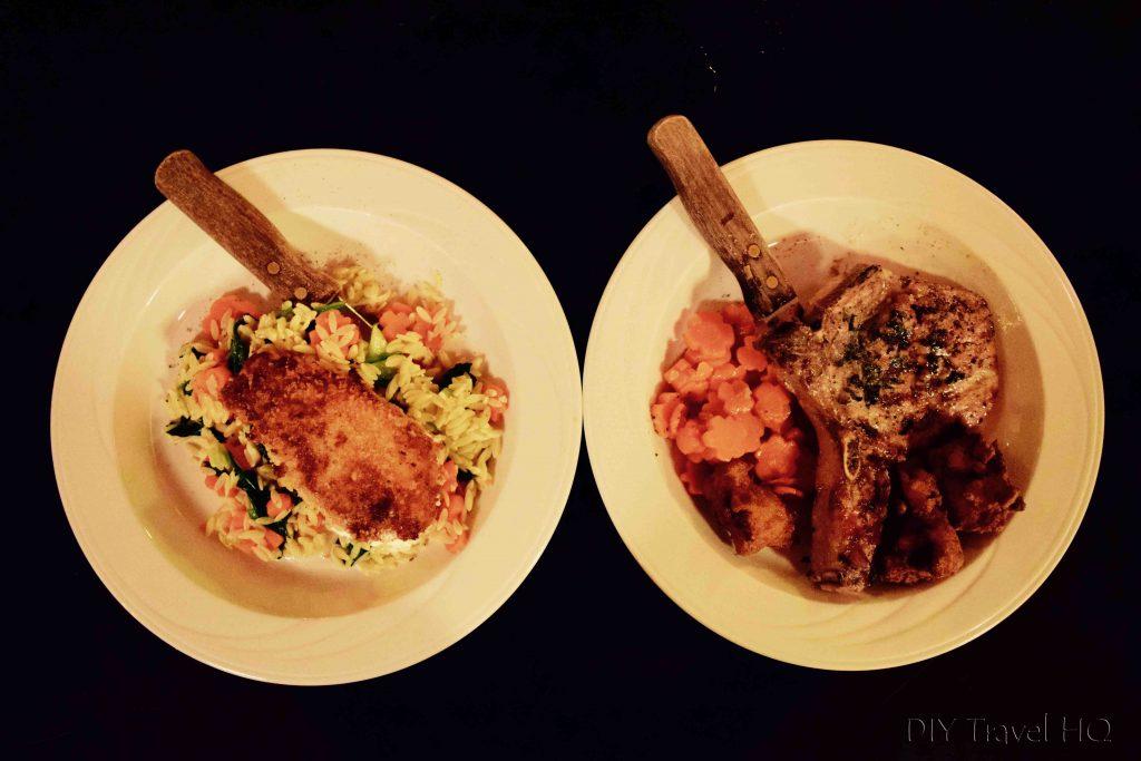Ruby's Hotel Dinner