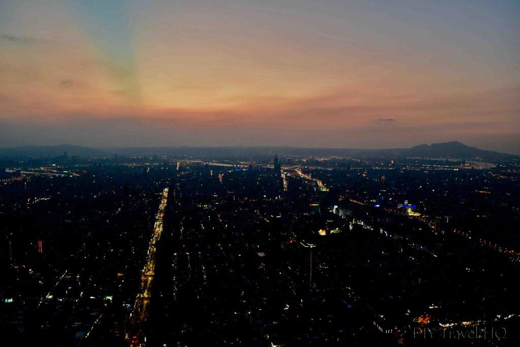 Taipei 101 Sunset view