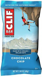 What to bring on hike energy bars