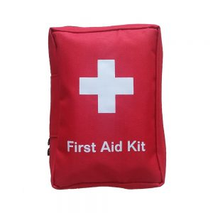 Hiking safety first aid kit