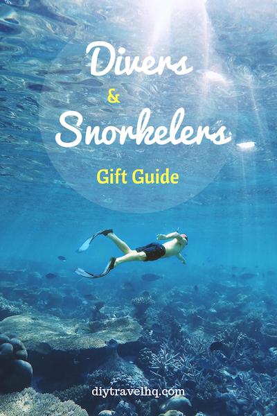 Snorkeler in the water