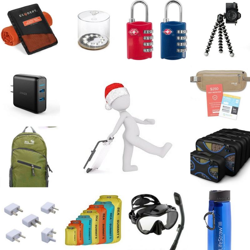 Christmas Gift Guide for Travelers