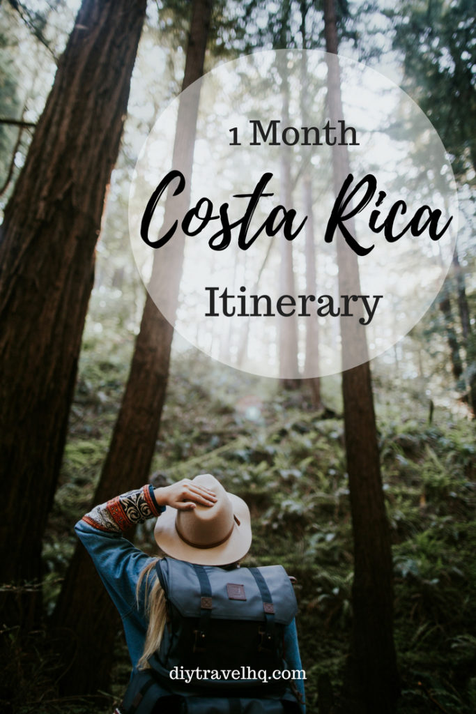 Planning a Costa Rica honeymoon or vacation? Check out our 1 month Costa Rica itinerary and find out the top 10 Costa Rica destinations the best things to do in Costa Rica, and many more Costa Rica travel tips #costarica #costaricatravel #centralamerica #diytravel