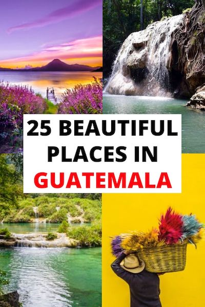 From Antigua to Tikal, there are so many beautiful places in Guatemala! Check out our Guatemala travel guide for an epic list of things to do in Guatemala and Guatemala tips! #guatemala #centralamerica #guatemalatravel