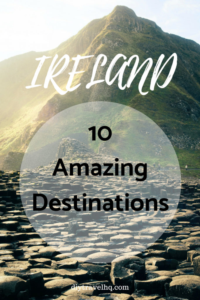 Looking for the best spots in Ireland? We've got the top 10 Ireland destinations including Dublin and Galway plus Ireland travel tips on how to travel Ireland on a budget. Check out our post and start planning your Ireland vacation! #ireland #irelandtravel #diytravel