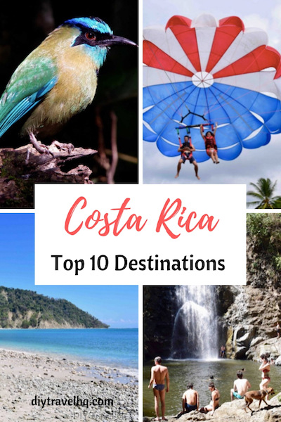 There are so many places to visit and things to do in Costa Rica. From San Jose to Guanacaste find out where to go and what to do in our 1 month Costa Rica itinerary #costarica #costaricatravel #centralamerica #diytravel
